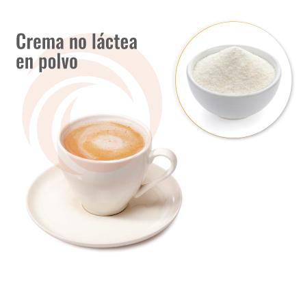 Crema no lactea en polvo