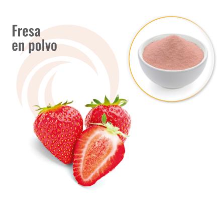 Fresa en polvo